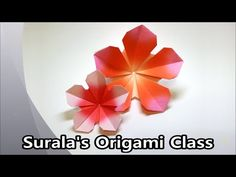 Origami - Apricot Flower