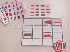 Március 15 - játékok nemzeti színekben Pre School, March, Holiday Decor, Education, Onderwijs, Learning, Mac