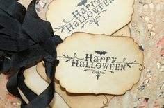 Simple Vintage Happy Halloween Printable