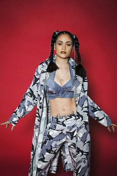 "Kehlani photoshoot for The Galore Magazine inspired by Lisa ""Left Eye"" Lopez of TLC - May 2016"