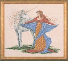 Design Works Crafts Counted Cross Stitch Picture Kit - Unicorn