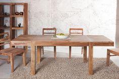 Esszimmer beige braun Steinwand Laminat Teppich-wohnzimmer modern ...