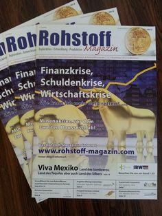 Rohstoff-Magazin - Sonderausgabe Edelmetallmesse - Gratis Download!     Natürlich wurde pünktlich zur Edelmetallmesse auch wieder eine neue Ausgabe des Rohstoffmagazins aufgelegt. Dieses können Sie kostenlos unter folgendem Link downloaden:  http://www.rohstoff-magazin.com/cms/images/artikel/Rohstoff-11-2012/Magazin2012.pdf