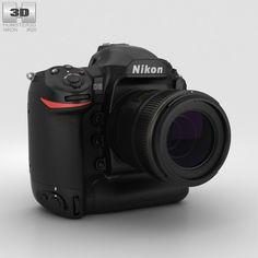 Nikon D5 3d model from Humster3D.