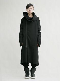 nude:masahiko maruyama<br />ジップアップフーデッドコート - 24TH OF AUGUST / Shim Limited Design Inc