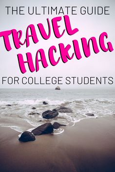This ultimate guide rounds up everything college students need to know to start reaping the benefits of travel hacking and travel credit cards! It is super easy to start travel hacking as a college student with the help of this post!