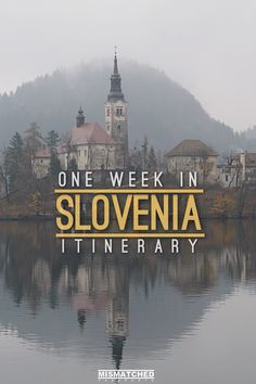 Slovenia is one of Europe's most beautiful countries. We spent one week in Slovenia and absolutely fell in love with it. From the capital, Ljubljana to the fairy tale town, Bled, there is so much to see here. Slovenia is also home to many natural wonders Voyage Europe, Europe Travel Guide, Montenegro, Cool Places To Visit, Places To Travel, Bon Plan Voyage, Slovenia Travel, Bohinj, Central Europe