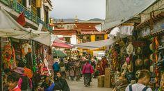 https://flic.kr/p/PuSBAR | Tibet, candid shot of local people in the market of Lhasa (Lhasa, China), 06-2016, 80 (Vlad Meytin, vladsm.com)