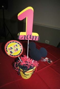 Mickey Mouse Birthday Party Ideas | Photo 20 of 20 | Catch My Party