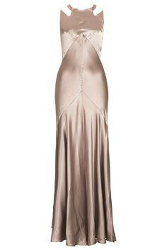 30s Style Dresses | SATIN 30S STYLE DRESS