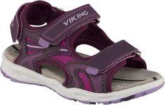 Viking Sandal Anchor, Plum/Dark Pink Stl 22