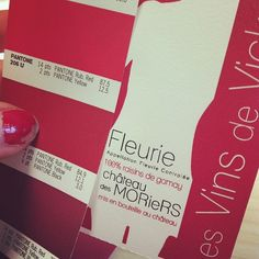 Choosing the right Pantone for Fleurie 2010