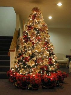 pre decorated christmas tree - Pre Decorated Christmas Trees