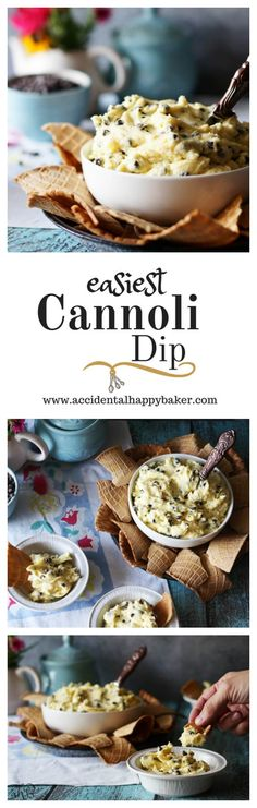 Cannoli Dip,This easy cannoli dip tastes like classic cannoli, goes together in…