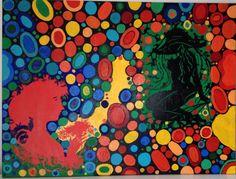 Akryl maleri, bobler