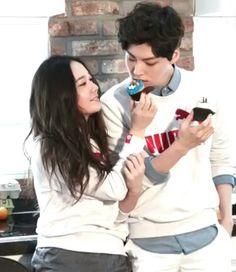 Krystal and ahn jaehyun for puma. So cuteeee ♡♡