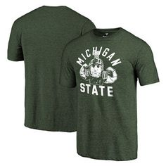 dc8522a6f Michigan State Mens Fanatics Branded Short Sleeve Shirts, Spartans Short-Sleeved  Tees