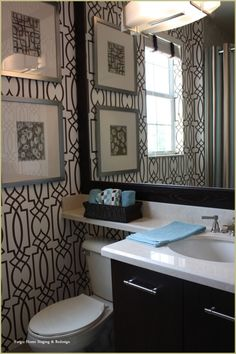 Bathroom - #home staging  www.forgiehomestaging.com