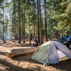 Like Airbnb, only for campers. It's called Hipcamp!
