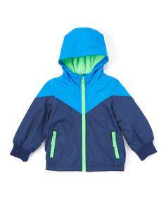 Blue Hooded Jacket - Infant, Toddler & Boys
