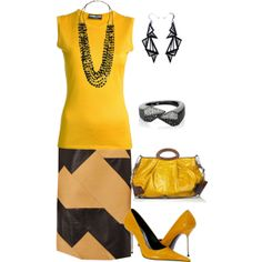 """""""Yellow Shoes"""" by maggie-johnston on Polyvore"""