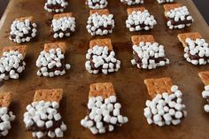Grandkids will love this one and they can help make them although the little marshmallows might not make it to the chocolate.