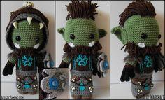 World of Warcraft Custom Alliance or Horde Sackdoll. $85.00, via Etsy. So amazing!!