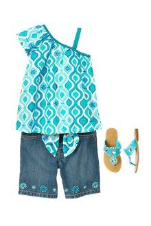Summer Glam from #gymboree Just one of a bzillion outfits my granddaughters will be needing!
