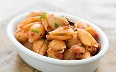 Simple, fast, tasty delight ... ready in just 20 minutes! #shells with #tuna sauce