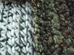 Garden Crocheted Scarf Multi-yarn Collection by tracyleeilg1318