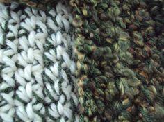 Garden Crocheted Scarf Multi-yarn Collection by tracyleeilg1318
