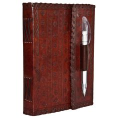 Amazon.com : INDIARY Genuine Leather Writer´s Notebook With Handcrafted Paper - 7x5 inch - Art Nouveau : Writing Notebooks : Office Products