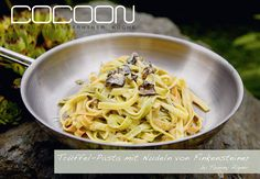 Trüffelpasta mit Nudel von Finkensteiner Macaroni And Cheese, Spaghetti, Cooking, Ethnic Recipes, Food, Truffle Pasta, Noodles, Meat, Easy Meals