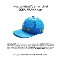 Pleasures x Chinatown Market Turned IKEA s Bag Into a Hat 933a8552bccd