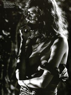 Natalia Vodianova by Mikael Jansson