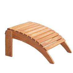 Teak Adirondack Chairs & Adirondack Footstools - Teak Outdoor Furniture - Country Casual