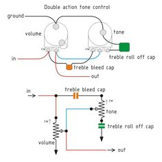 Switchable volume attenuator wiring diagram guitarsstringed treblebass tone control diy guitar pedalguitar cheapraybanclubmaster Gallery