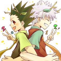 Gon and Killua    ~Hunter X Hunter