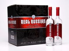 Real Russian Vodka on Packaging of the World - Creative Package Design Gallery