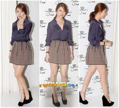 Yoon Eun Hye at O'2nd 15th Anniversary Exhibition