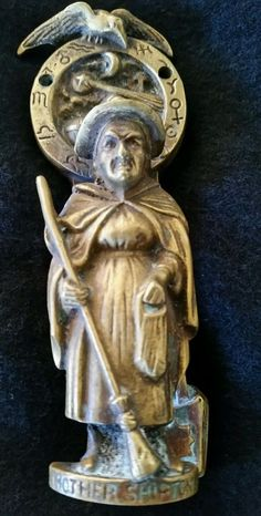 C.1915 Mother Shipton Door knocker, registered no. England  witchcraft occult