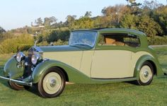 Rolls-Royce 25/30 Saloon Coupe by Hooper Chassis GGR20