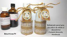 BEAUTICIAN.STELA HANDMADE: Balsam natural - cu efect de volum (ptr parul gras... Grapefruit, Natural, Wine, Bottle, Blog, Handmade, Alcohol, Hand Made, Flask