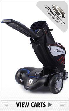 Electric & Remote Golf Caddies from Powakaddy, Motocaddy & Stewart | Caddy Country