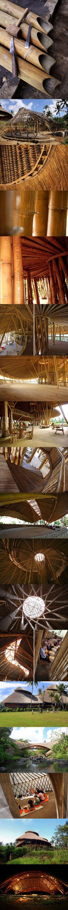 visit us on www.facebook.com/tribelab  PT bamboo pure: green school, bali