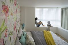 A Star Wars-Themed Apartment in Taiwan by White Interior Design/ SEE MORE AT http://modernhomedecor.eu/interiors/star-wars-themed-apartment-taiwan-white-interior-design/
