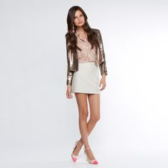 Gina cap toe pump (with this outfit)- ShoeDazzle