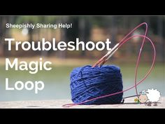 It seemed to take me forever to master Magic Loop Knitting! I watched every - Knitting Magic Loop Knitting, Knitting Help, Knitting Videos, Knitting For Beginners, Knitting Socks, Hand Knitting, Knitting Patterns, Knitting Tutorials, Vintage Knitting