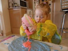 Learn with Play at home: Gooey Flour Fun!