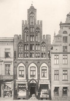 hopfenmarkt 28, um 1892/93, rostock